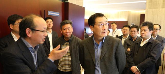 中国证监会副主席李超调研大立科技