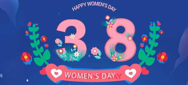 【大立向最美的你们致敬】3·8 妇女节快乐!