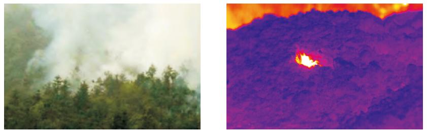 温度 烟雾火焰传感器电路图