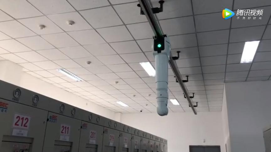 变电站机器人运行视频