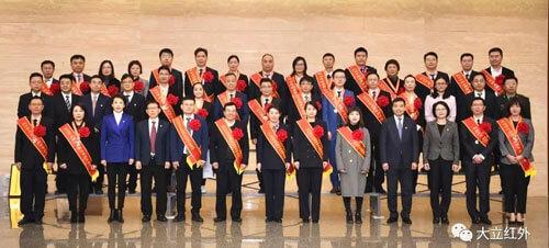 大立科技,再获殊荣|杭州隆重举行抗疫总结表彰大会