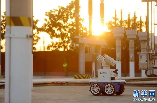 轨道交通。智能巡检机器人